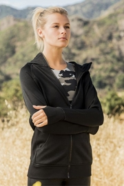 Mono B Hoodie Jacket - Front cropped