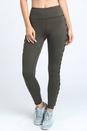 Mono B Lace Up Leggings - Product Mini Image