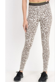 Mono B Leopard Workout Leggings - Front cropped