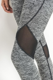 Mono B Mesh Capri Legging - Side cropped