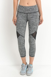 Mono B Mesh Capri Legging - Back cropped