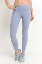 Mono B Mesh Yoga Pant - Product Mini Image