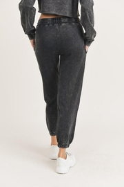 Mono B Mineral Washed Joggers - Front full body