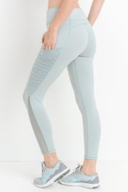 Mono B Mint Workout Leggings - Product Mini Image