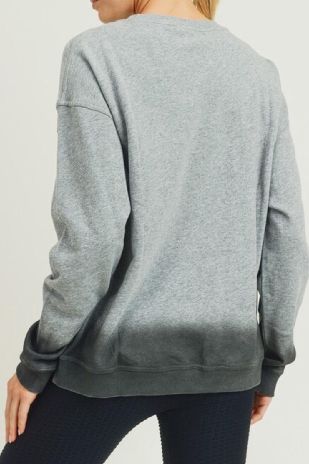 Mono B Ombré Essential Pullover - Front Full Image