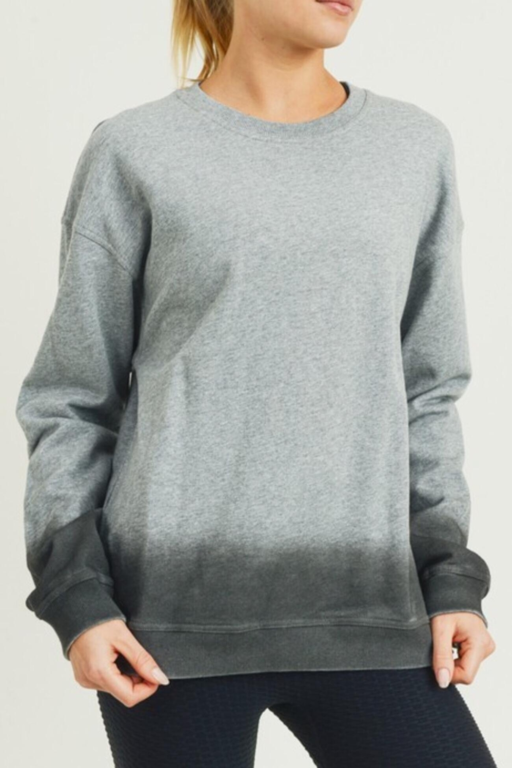 Mono B Ombré Essential Pullover - Main Image