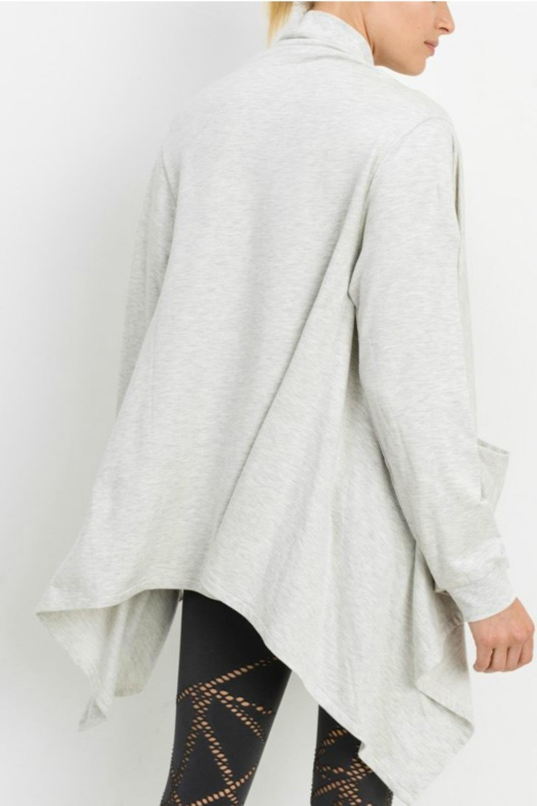 Mono B Open Front Cardigan - Front Full Image