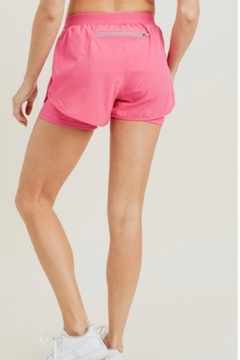 Mono B Pink Athletic Shorts - Alternate List Image