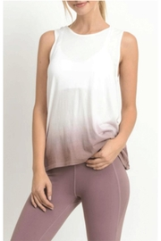 Mono B Reversable Dip-Dye Top - Front cropped