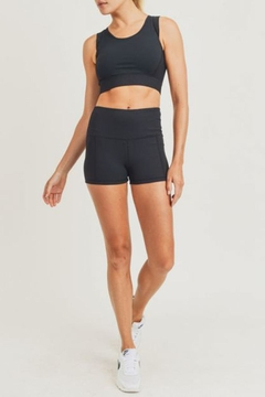 Shoptiques Product: Ribbed Active Short