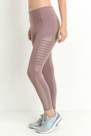 Mono B Side Mesh Legging - Front full body