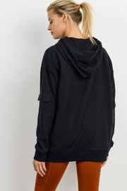 Mono B Soft Pullover Hoodie - Front full body