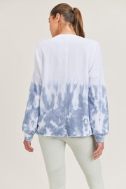 Mono B Tie-Dye Pullover - Front cropped