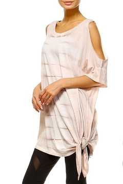 Shoptiques Product: Knot Dye Tunic Top