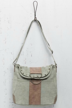 Shoptiques Product: Upcycled Canvas Crossbody