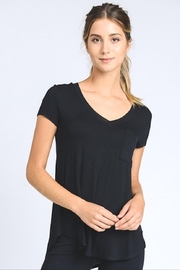 Mono B V-Neck Pocket Tee - Front cropped