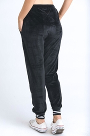 Mono B Velour Jogger Pants - Front full body