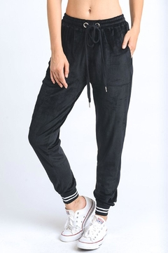 Shoptiques Product: Velour Jogger Pants
