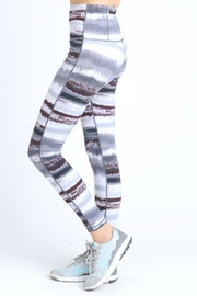Mono B Zen Print Leggings - Front full body