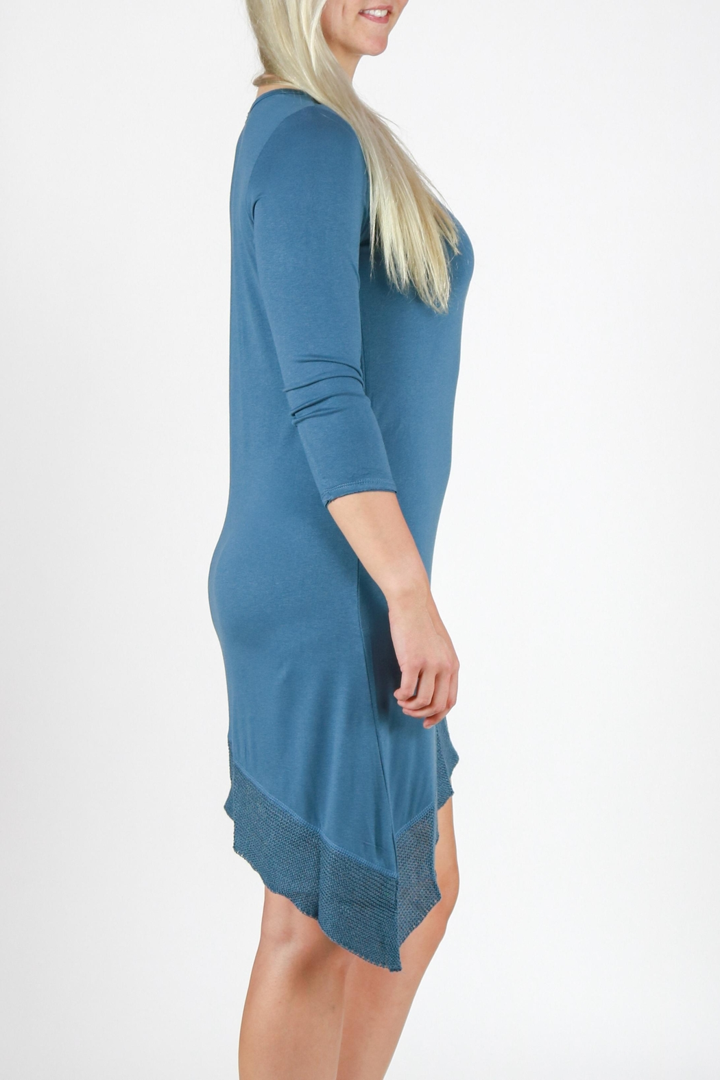 Mono Reno Asymmetrical Dress - Side Cropped Image