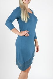 Mono Reno Asymmetrical Dress - Front full body