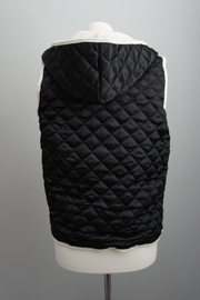 Monocracy Quilted Hoodie Vest - Side cropped