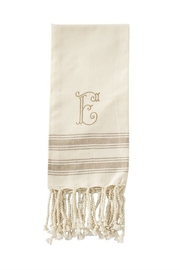 Mud Pie Monogram Turkish towel - Other