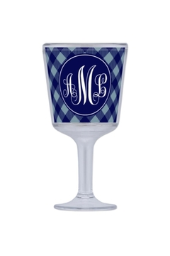 Paparte Personalized Gifts Monogrammed Wine Glass - Product List Image