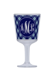 Paparte Personalized Gifts Monogrammed Wine Glass - Product Mini Image