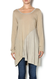 Monoreno Camel Asymmetrical Tunic - Product Mini Image