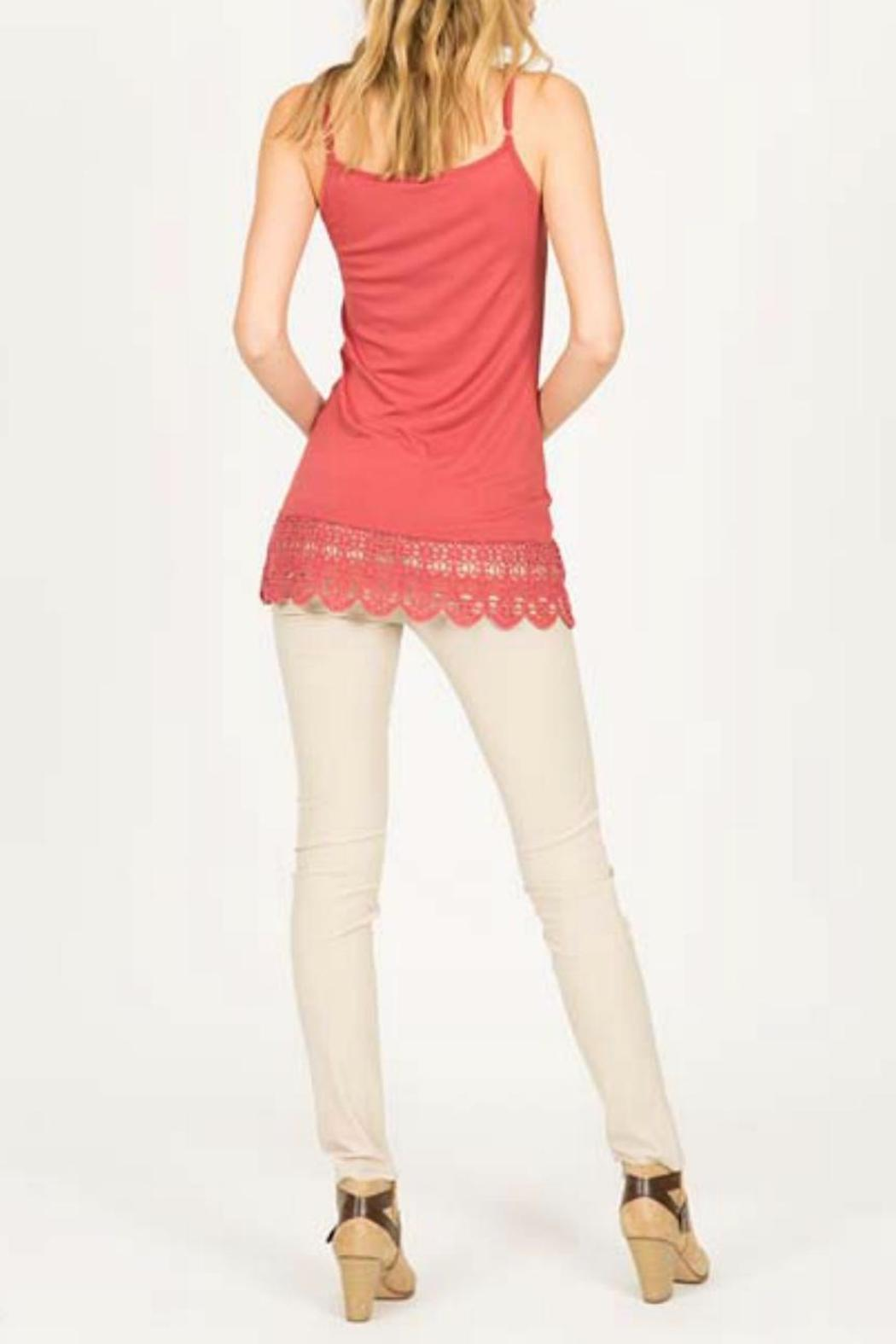 Monoreno Cami Crochet Dress - Front Full Image