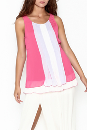 Monoreno Color Stripe Tank - Product Mini Image