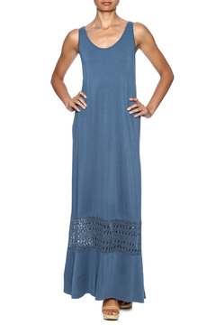 Shoptiques Product: Crochet Panels Maxi Dress
