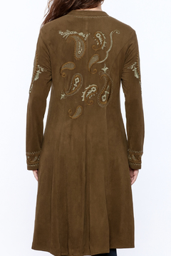 Shoptiques Product: Embroidered Duster Coat