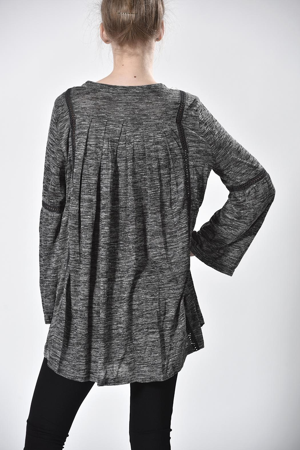 Monoreno Embroidered Tunic - Front Full Image