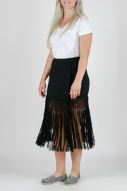 Monoreno Fitted Fringe Skirt - Other