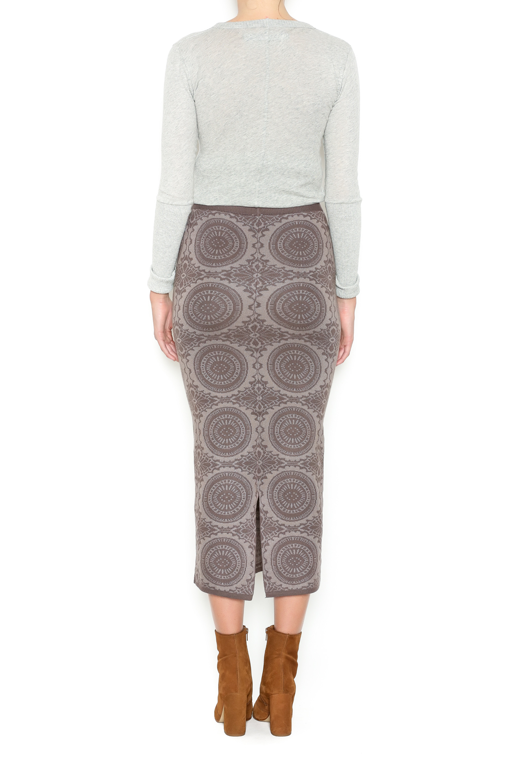 monoreno knit maxi skirt from williamsburg by fanaberie