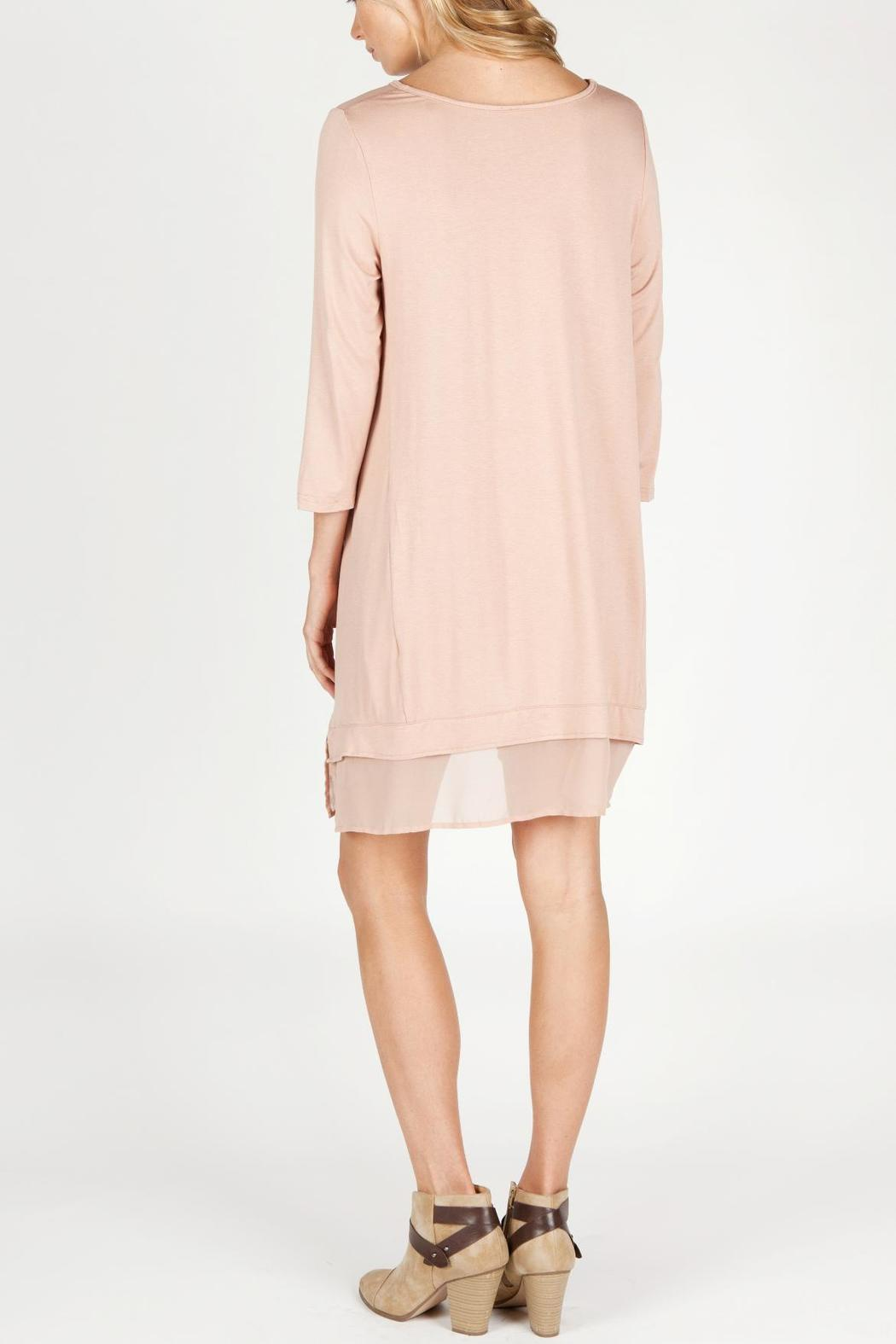 Monoreno Silky Pale Tunic - Front Full Image