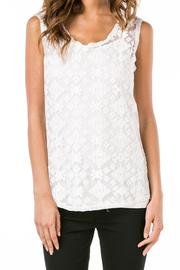 Monoreno White Lace Top - Product Mini Image