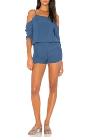 Monrow Cold Shoulder Romper - Product Mini Image