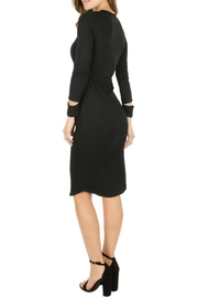Monrow Cut Out Cuff Dress - Back cropped