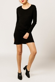Monrow Elbow Cut Out Dress - Product Mini Image