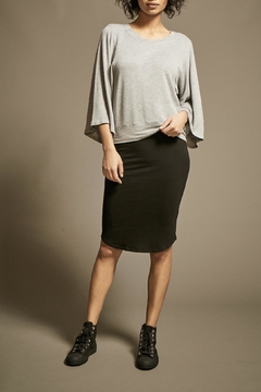 Shoptiques Product: Fine Knit Pencil-Skirt