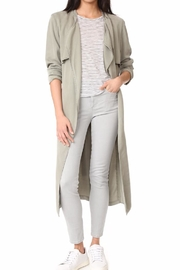 Monrow Trench Coat - Front cropped
