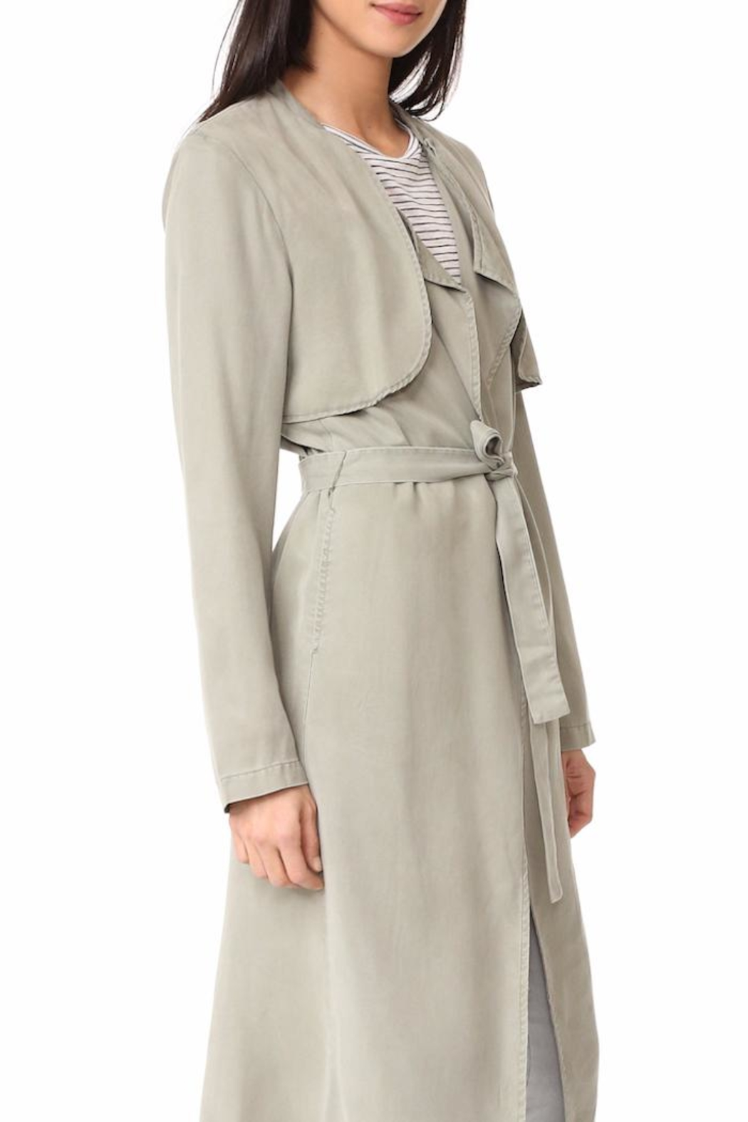 Monrow Trench Coat - Front Full Image