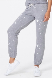 Monrow Star Print Sweats - Product Mini Image