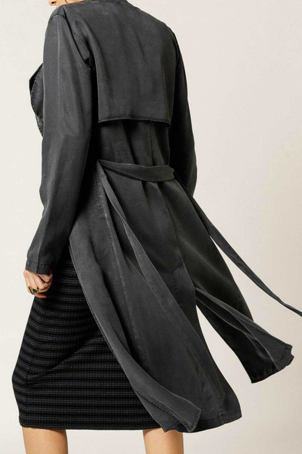 Monrow Tencel Duster Coat - Side Cropped Image