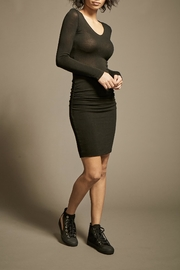Monrow V-Neck Supersoft Dress - Front cropped