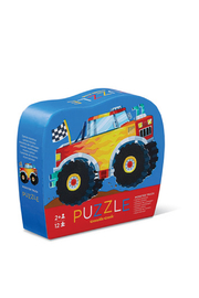 Crocodile Creek Monster Truck 12 Piece Puzzle - Product Mini Image