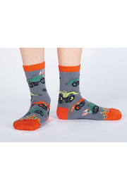 Sock it to me Monster Truck Crew Sock - Product Mini Image